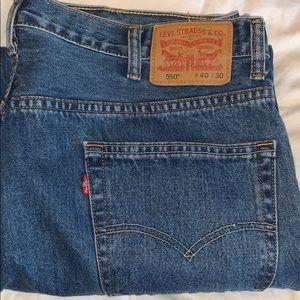Levi Jeans Size W40 L32